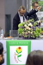 Area Master Flower - 3° giorno, esibizione di Mastro Fioristi