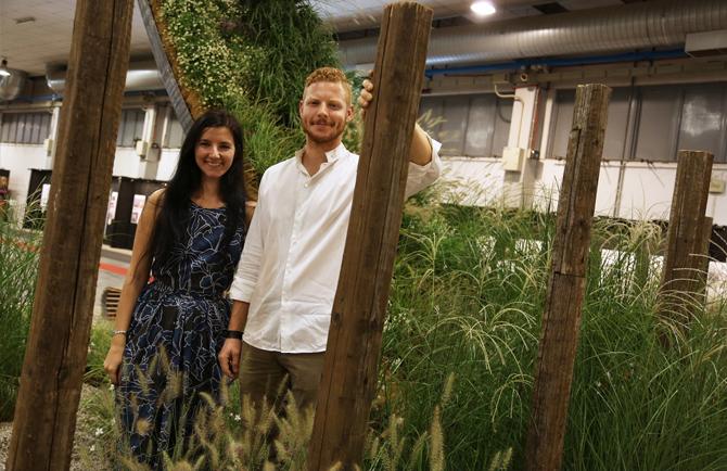 Flormart garden show il primo premio al progetto uomini - Porcellato vivai ...