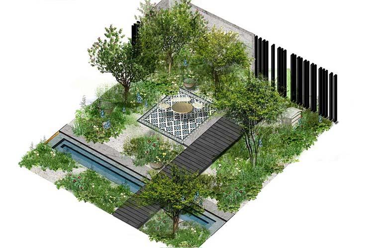 Giardini Moderni E Contemporanei : Lifestyle gardens: giardini ispirati agli stili di vita floraviva