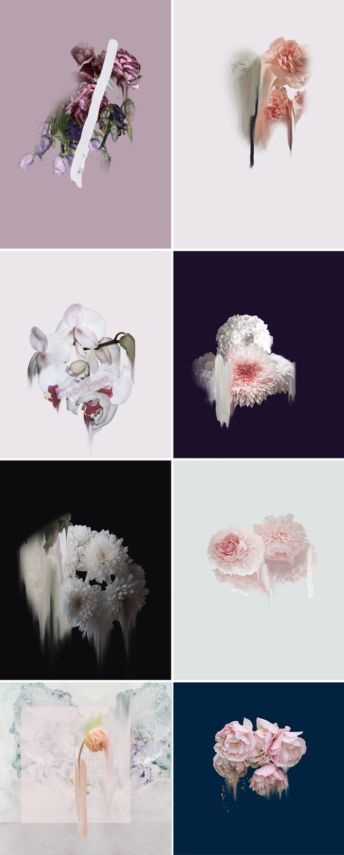 simone webb, arte verde, fiori, floraviva